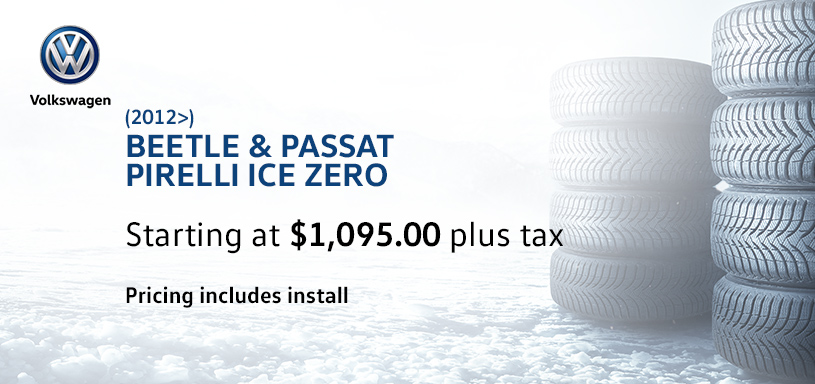 Beetle and Passat Winter Tire Offer